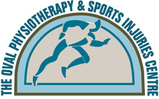 The Oval Physio logo